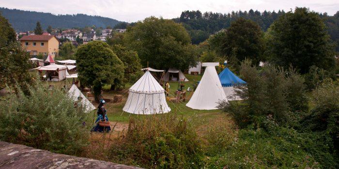 Hirschhorn 2016 - Ritterlager