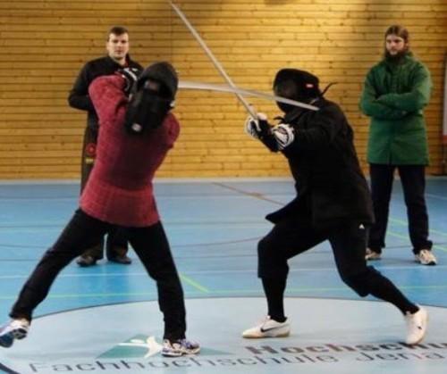 1.Magister-Beringois-Turnier im Historischen Fechten in Jena Jan. 2014